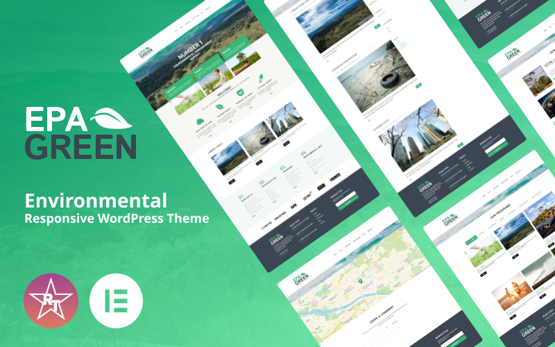 Milieuvriendelijk WordPress-thema
