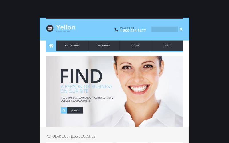 Modèle de site Web réactif pour les entreprises et les services