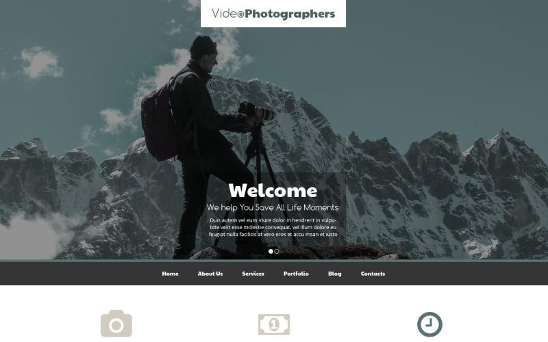 Pro Video  Photo Stuff Drupal Template