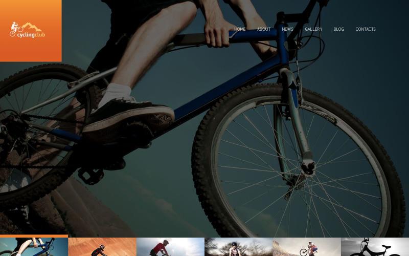 Адаптивная тема WordPress для велосипедистов