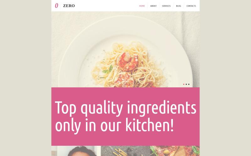 Cozy Cafe  Restaurant WordPress Theme