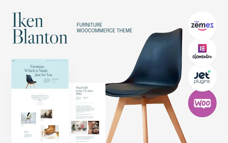 Iken Blanton - Furniture And Interior Design WordPress Theme