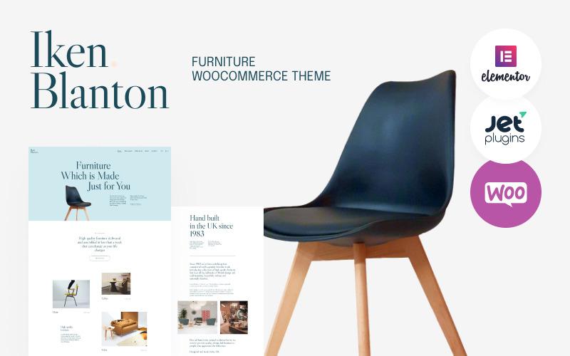 Iken Blanton - WordPress тема по теме Мебель и интерьер