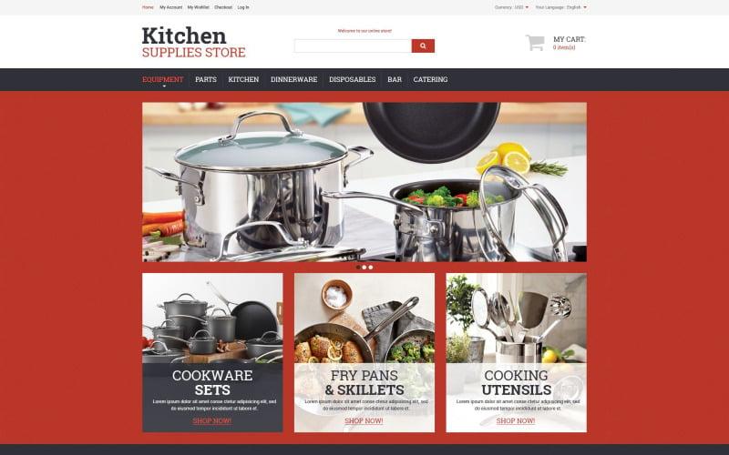 Kitchen Utensils Magento Theme