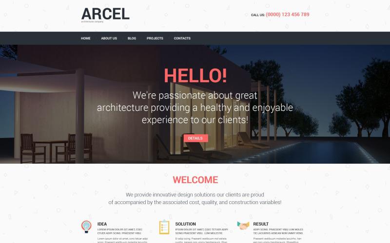 Motyw WordPress oparty na architekturze