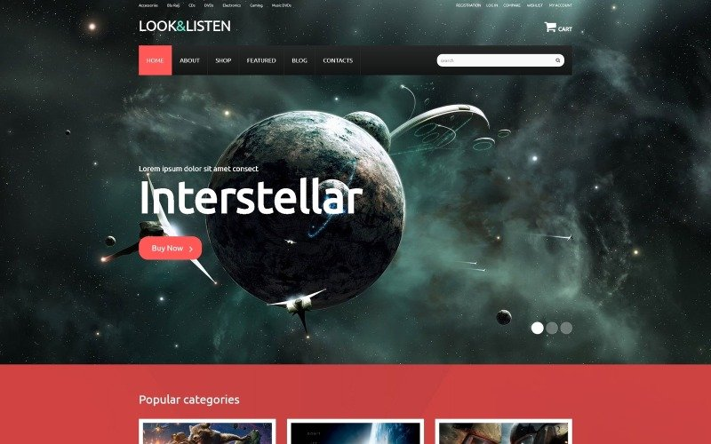Entertainment Marketplace WooCommerce Theme
