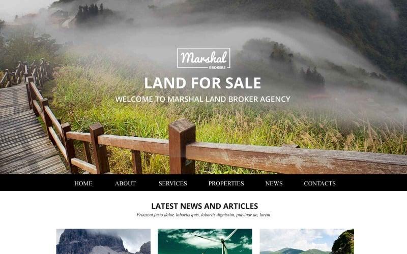 Land Brokers Website Template