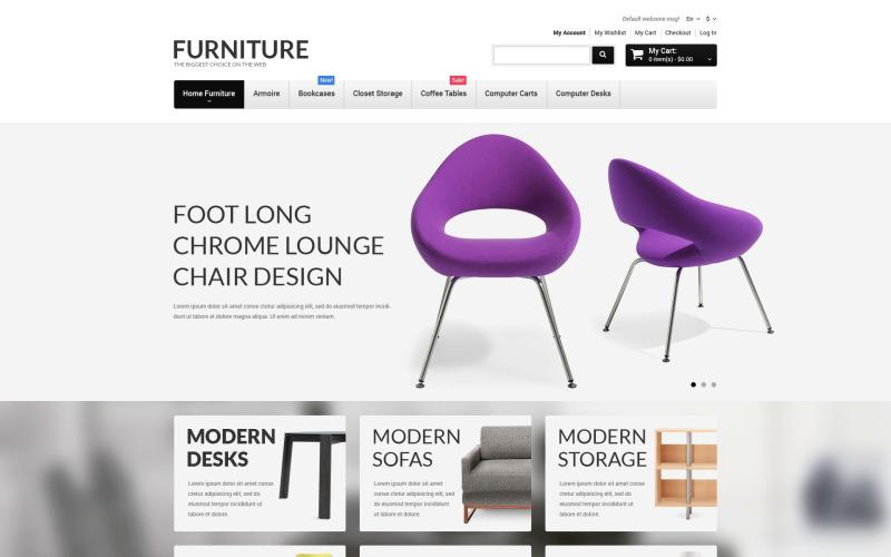Адаптивная тема Magento для мебели