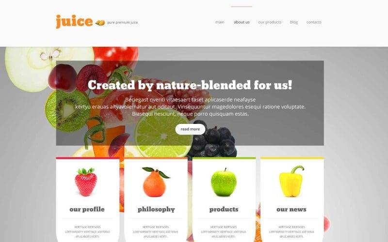 Élelmiszerbolt érzékeny WordPress téma