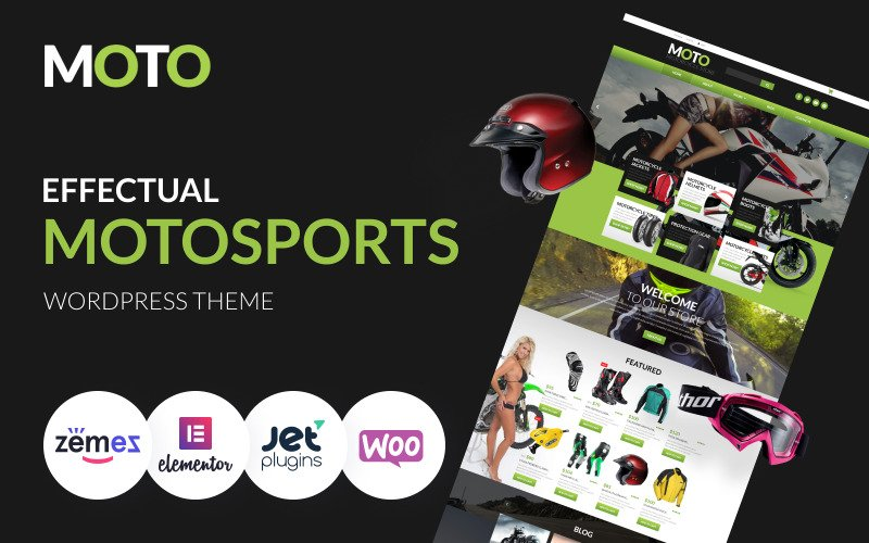 Motorcycle Store - Sports and Effectual Motosports Templates