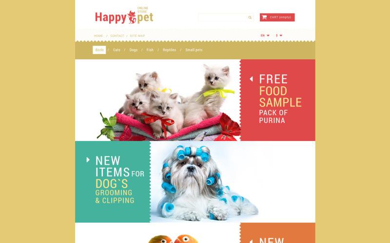 Pets Shopping PrestaShop Theme