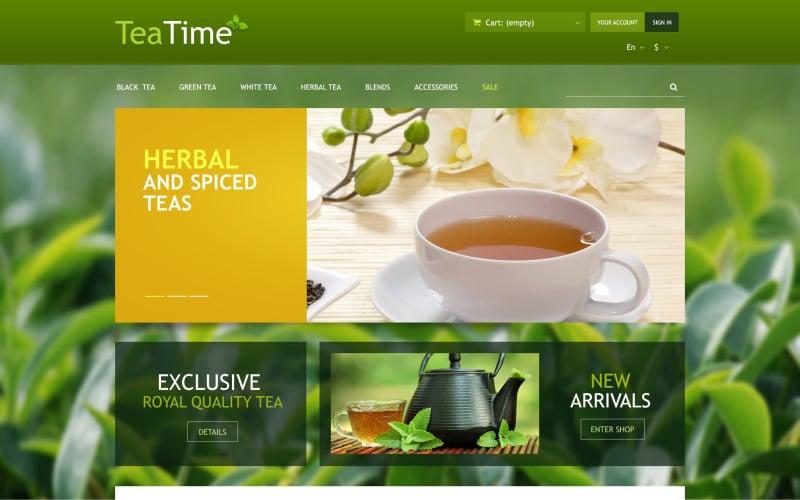 Tea Store PrestaShop Theme