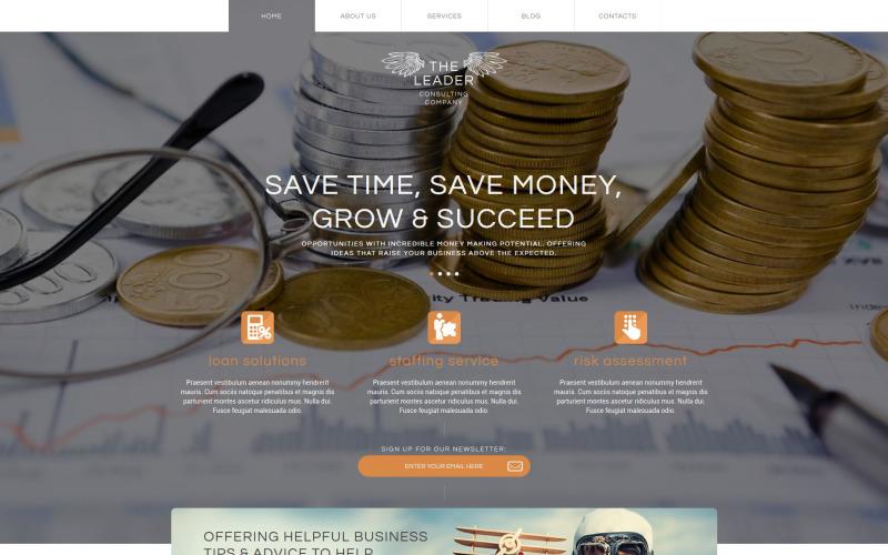 Business Booster WordPress Theme
