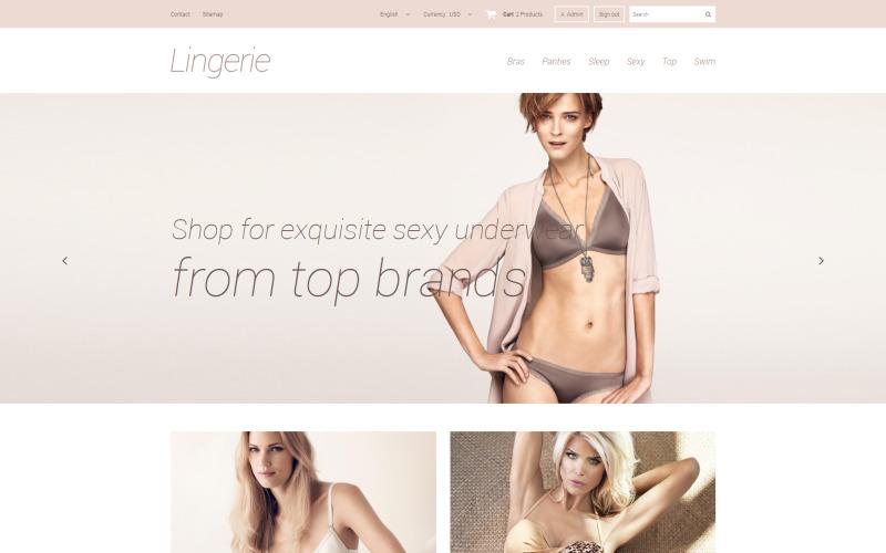Elegant Lingerie PrestaShop-thema