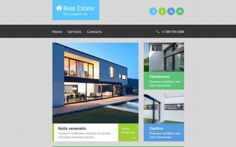Real Estate Agency Responsive Newsletter Template