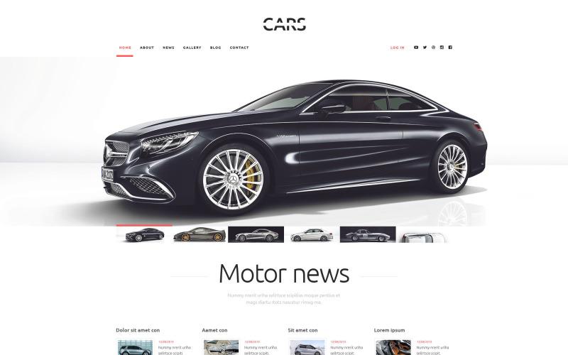 Thème WordPress Cars