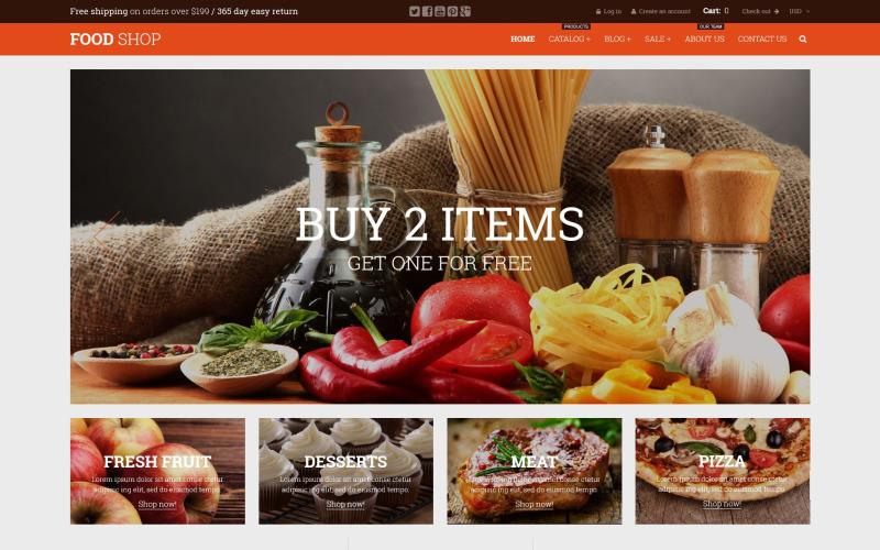 Food Shop Shopify Theme
