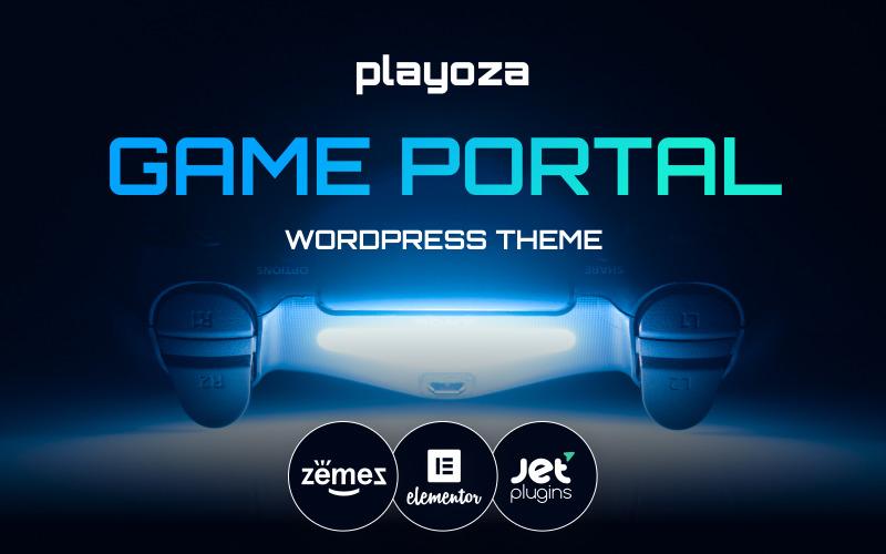 Playoza - WordPress тема для киберспорта, игрового портала