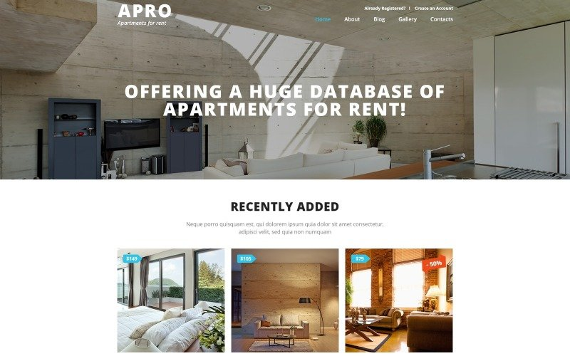 Real Estate Business Joomla Template