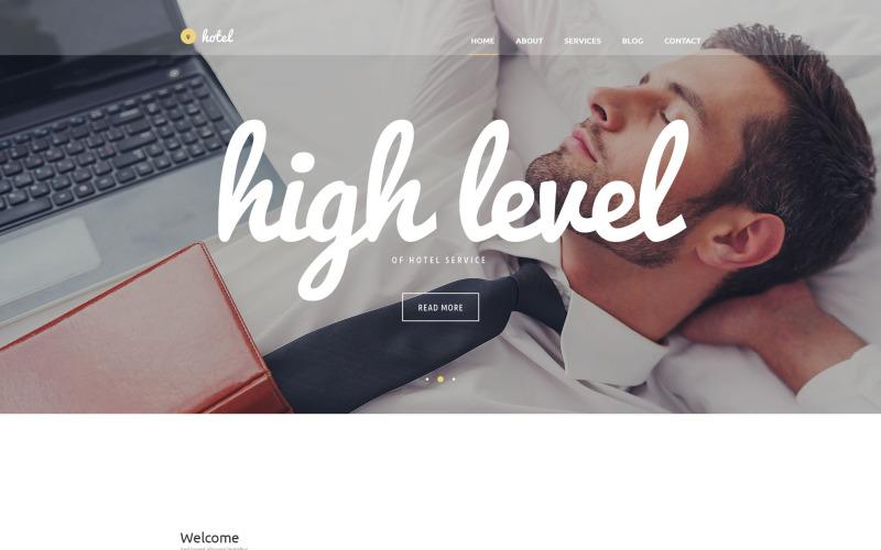 WordPress тема для гостиничного бизнеса