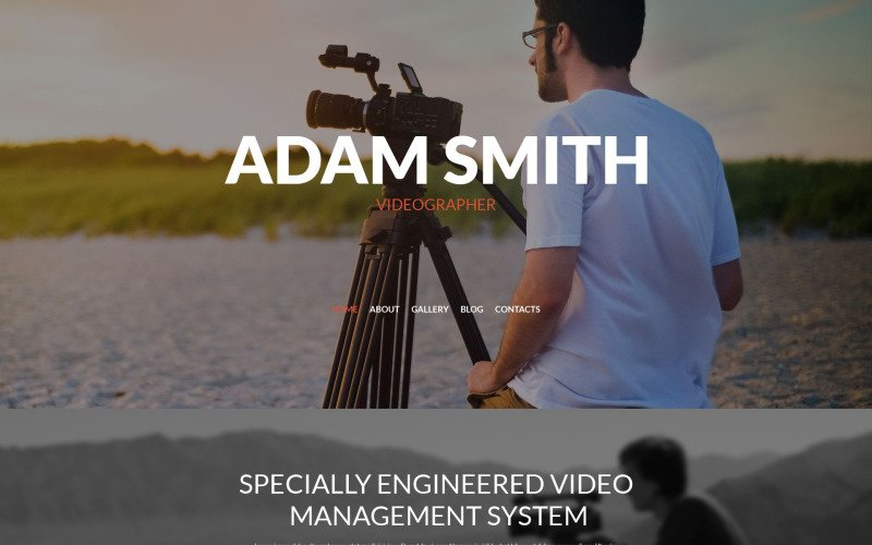 Адаптивная тема WordPress для видеооператоров