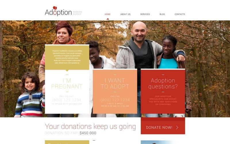 Adoption Agency WordPress Theme