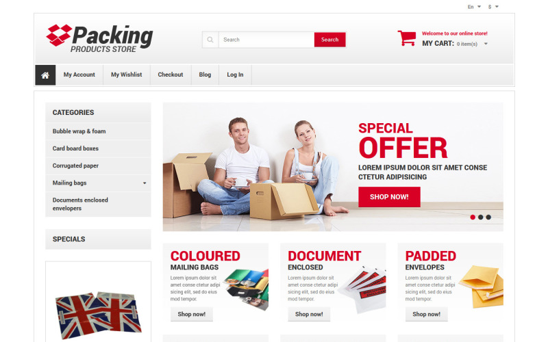Business & Services Responsive Magento Theme