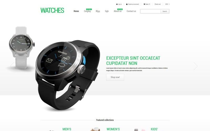 Stylish Watches Shopify Theme