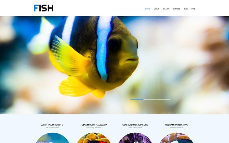 Tema WordPress reattivo a base di pesce