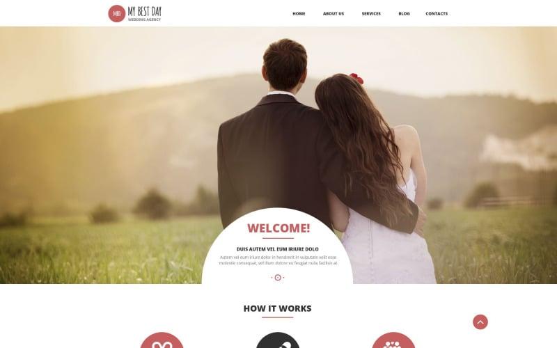 Wedding Planning Consultancy WordPress Theme