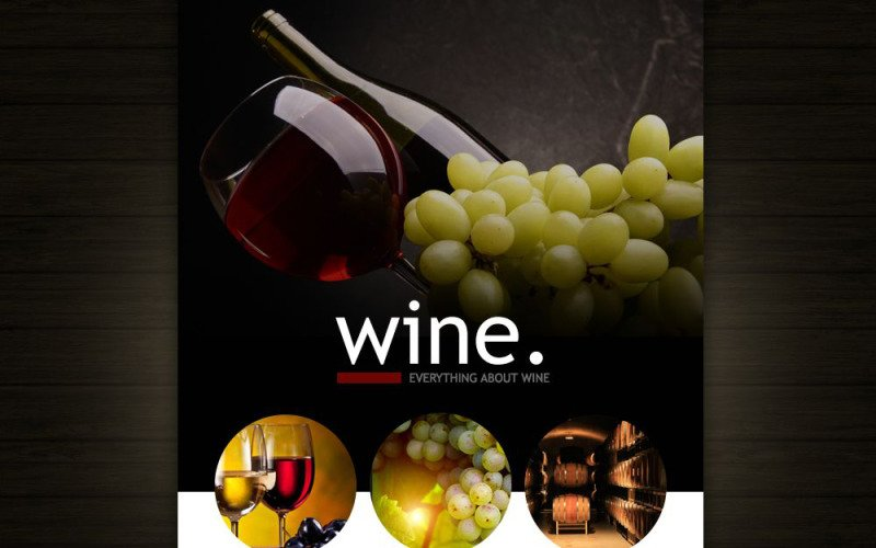Wine Responsive Newsletter Template