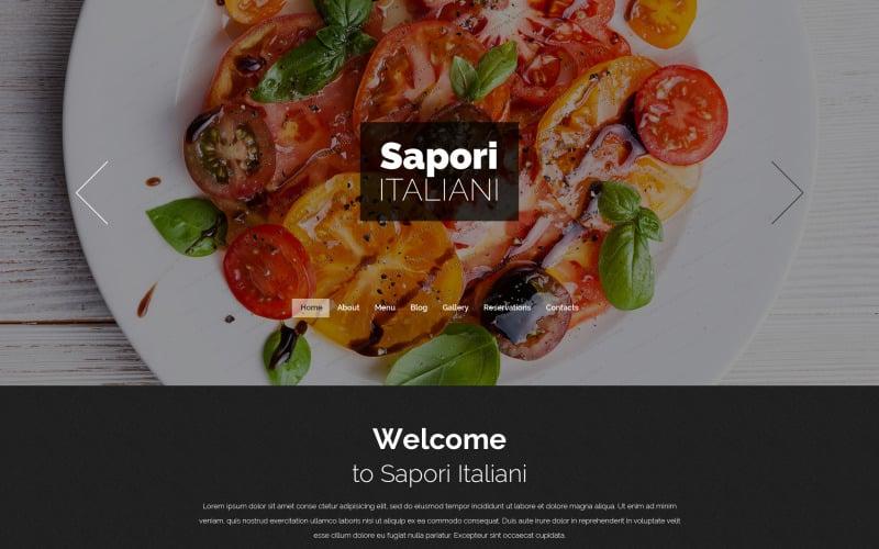 Italian Restaurant Free Drupal Theme Drupal Template