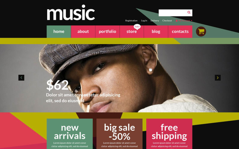 Music Store WooCommerce Theme