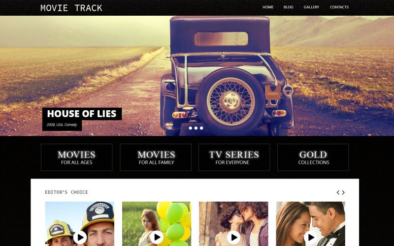 Online Movies WordPress Theme