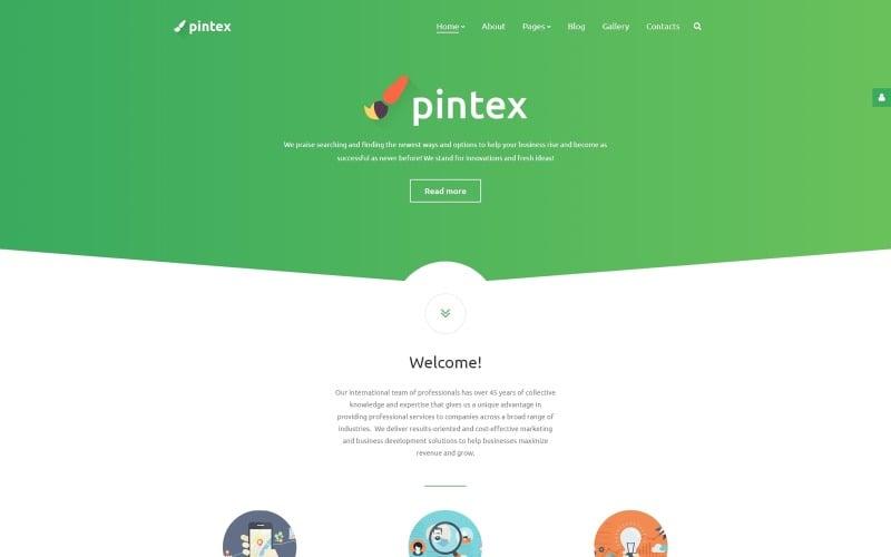 Pintex Responsive Joomla Template