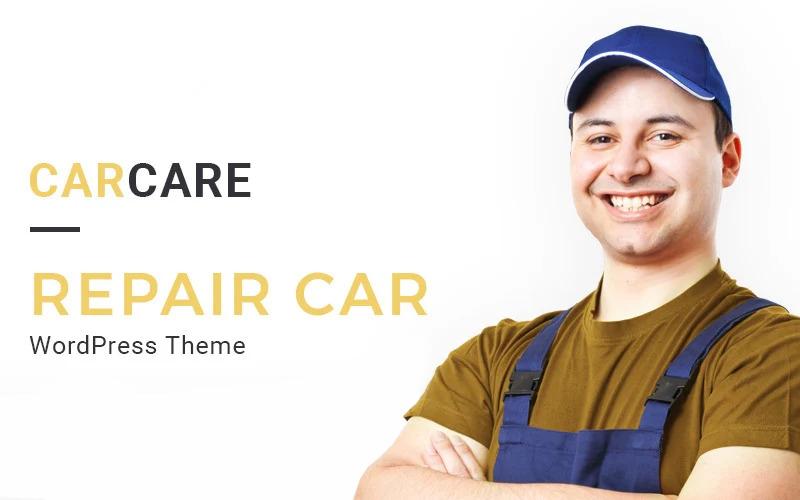 Tema WordPress reattivo per riparazione auto