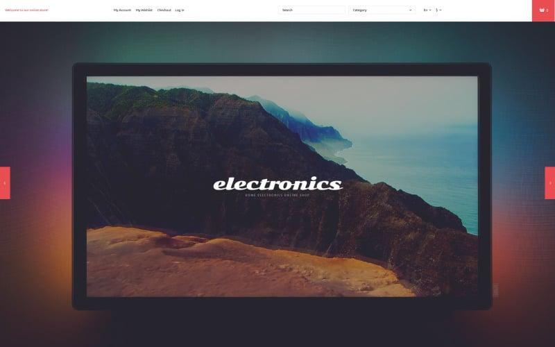 Home Electronics Store Magento Theme