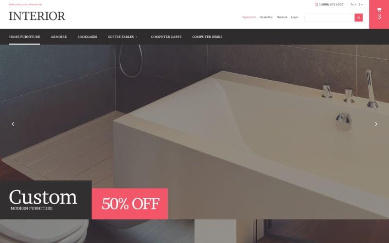 Home Furniture Store Magento Theme