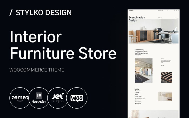 Stylko - Home Interior and Furniture WordPress Theme