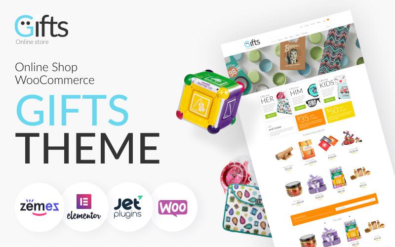 Тема магазина подарков WooCommerce