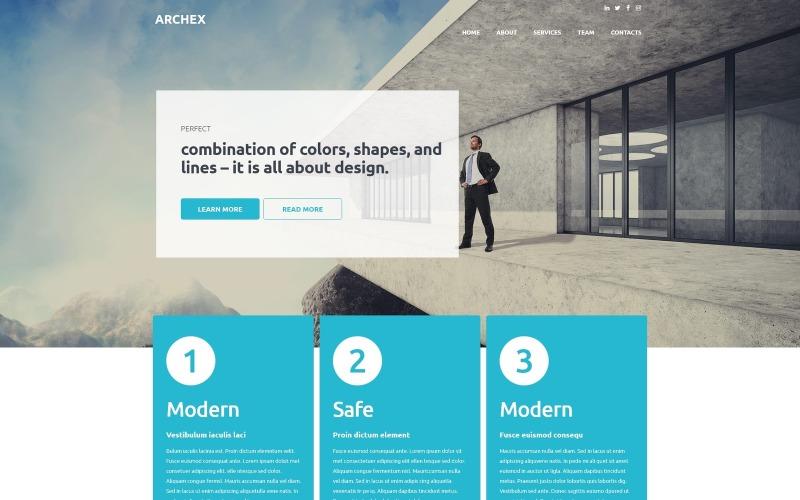 Тема WordPress для архитектурной отделки