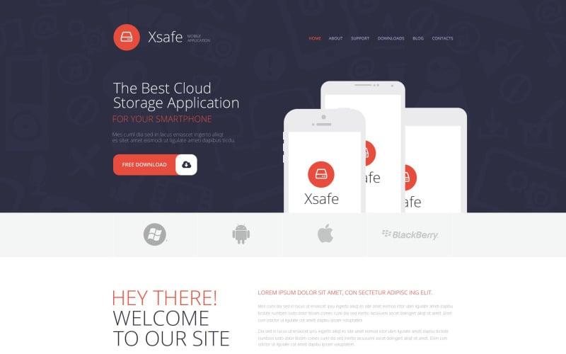 Tema WordPress per App Store per dispositivi mobili