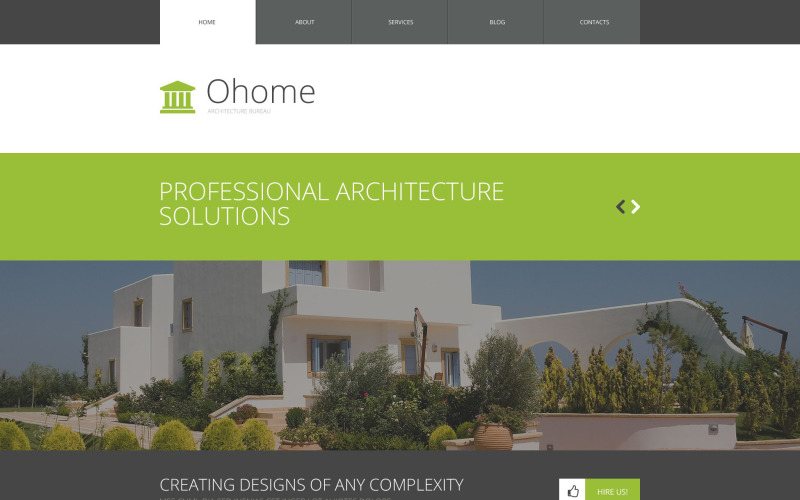 WordPress тема архитектуры
