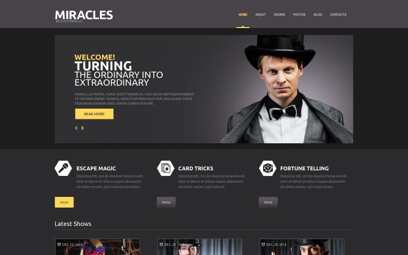 Entertainment Responsive WordPress Theme