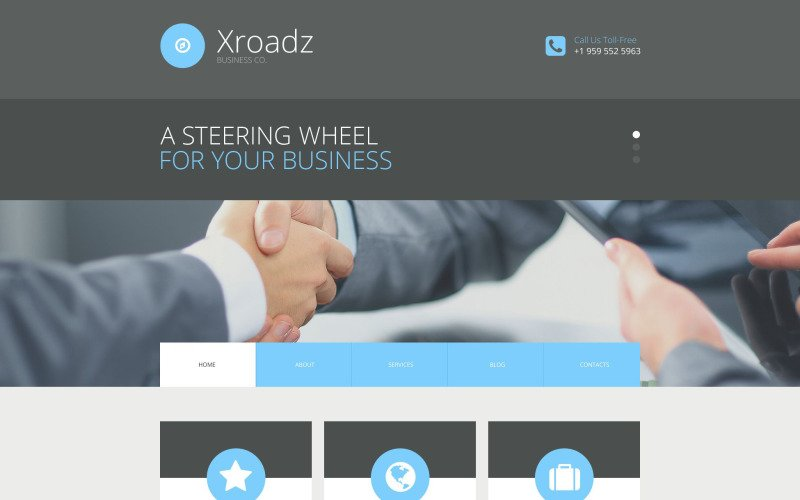 Xroadz WordPress Theme