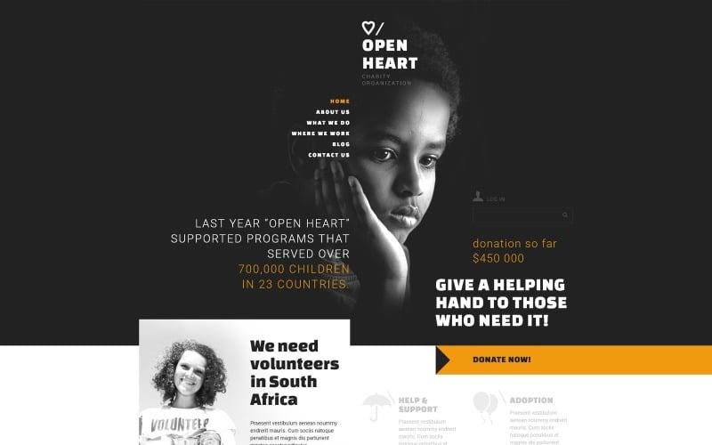 Charitable Donation Joomla Template