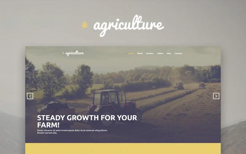 Сельское хозяйство - WordPress тема Elementor для растениеводства