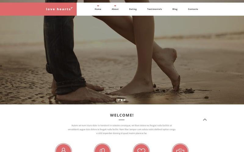 Love Hearts WordPress Theme