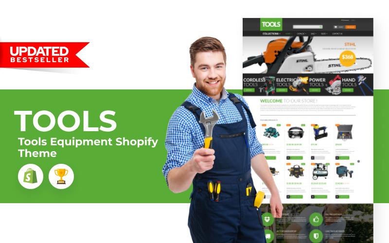 Narzędzia Wyposażenie Motyw Shopify