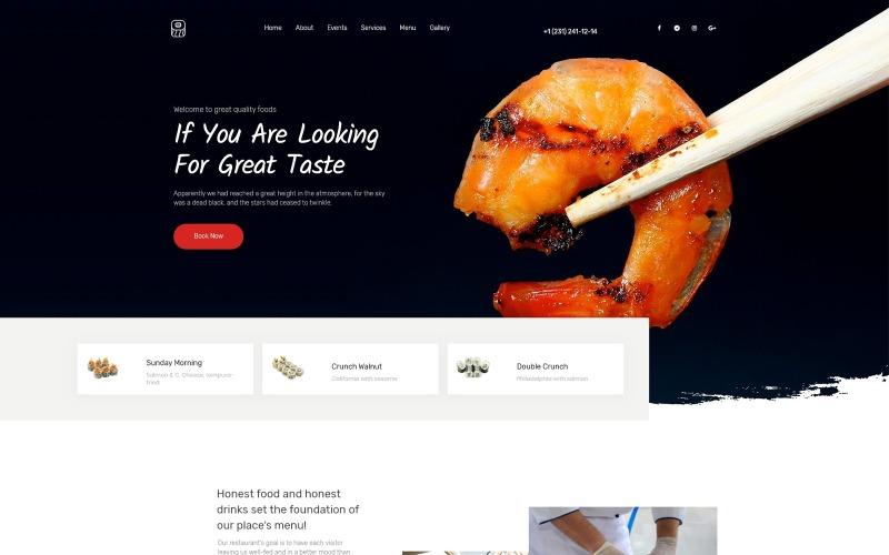 Tema WordPress di cucina europea